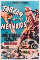 Tarzan And The Mermaids Poster Movie 27 X 40 Inches - 69CM X 102CM 1948