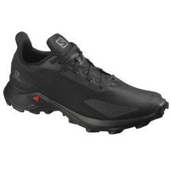 Salomon Men's Alphacross Blast Trail Running Shoes - Black