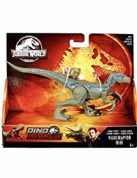 Jurassic World Action Figure Pack Dino Rivals Savage Strike Velociraptor Blue Jurassic Park Action Figure