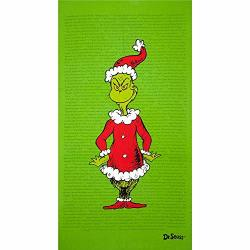 How The Grinch Stole Christmas Mr Grinch Green Panel From Dr Seuss