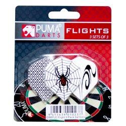PUMA DARTS Puma Dimple Flight 3PACK 9PC