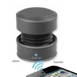 SDI Technologies, Inc  Ihome IBT60BY Bluetooth MINI Speaker System Black |  R | Handheld Electronics | PriceCheck SA