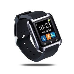 Bluetooth U80 Smart Watch Outdoor Sports Pedometer With Micphone Touch Screen For Android Phones Iph