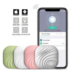 NUT3 Smart Key Finder Bluetooth Wifi Tracker Gps Locator Wallet Phone Key Anti-lost Bidirectional Alarm Reminder 4 Packs Multico