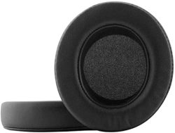 Kraken Pro V2 Earpads Replacement Ear Pads Protein Pu Leather Ear Cushion Compatible With Razer 7.1 Razer Pro Chroma V2 Gaming Headphones Black