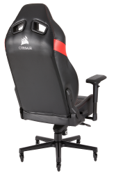 : T2 Road Warrior Gaming Chair Black And Red PC