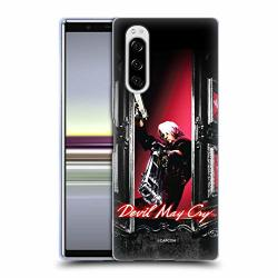 Official Devil May Cry Dante Window Characters Soft Gel Case Compatible For Sony Xperia 5