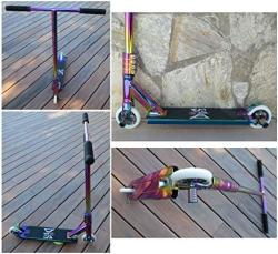 USA Dis Slick Custom Pro Complete Scooter Professionally Assembled Neochrome