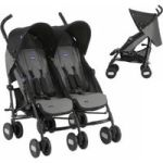 Chicco - Echo Twin Comp Stroller Coal