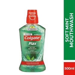 Colgate Plax Mouthwash Soft Mint 500ml