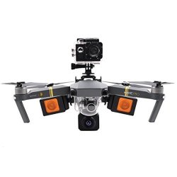 Nesee For Dji Mavic Pro Multifunction Kit Camera Adapter Light Fixing Stand Black