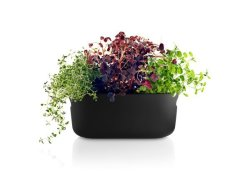 Eva Solo Self-watering Herb Organiser Black