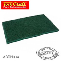 Tork Craft Pad Non Woven Industrial Strength 150 X 230mm Fine Green - Green 20pce