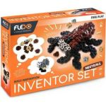 Flexo Inventor Set Neutrals 815 Pieces 200 Bricks + 2 Tendon Sheet 600