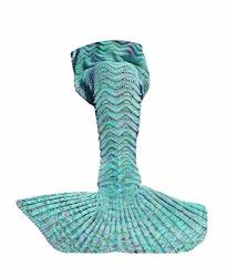 Abc Outlet Mermaid Tail Blanket Crochet Mermaid Blanket Girls Teens. Kids Mermaid Tail Blanket Knitted Mermaid Tail Sleeping Bag