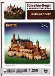 Schreiber-bogen Hohenzollern Castle Card Model