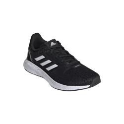 Adidas Women's Runfalcon 2.0 Running Shoes - Black white grey Six