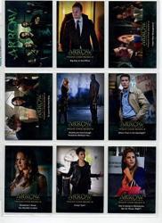 Arrow Season 2 Trading Cards Base Set