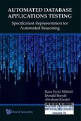 Automated Database Applications Testing: Specification Representation for Automated Reasoning Series in Machine Perception and