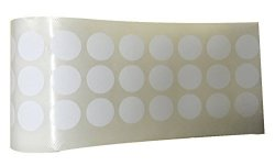 """Wootile 1000 White Self-adhesive Price Labels 3 4"""" Stickers Tags Retail Store Supplies"""