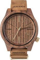 Wewood Torpedo Leather Nut Watch