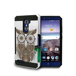 buy online 37be8 89467 Beyond Cell Zte Kirk Case Z988 Zte Imperial Max Case Z963U Grand X Max 2  Case Max Duo Case Heavy Duty Armor Hybrid Metallic Card | R | Cellphone ...
