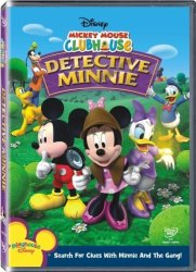 Mickey Mouse Clubhouse Detective Minnie DVD