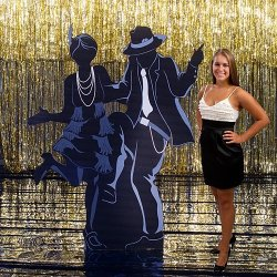 Stumps Shindigz All That Jazz Dancing Couple Cutout