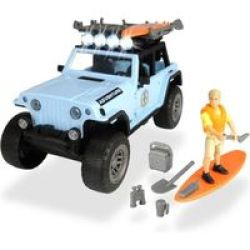 Dickie Toys Playlife Series - Surfer Set 1:24