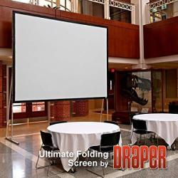 Draper 241312 Ultimate Folding Screen 62 X 96 Matt White XT1000V