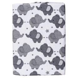 LITTLE ONE - Ellie Generic Baby Receiving Blanket Grey