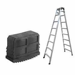 Estink- Ladder Feet Replacement 2PCS Black Rubber Non Slip Step Ladder Feet Foot For 60 X 23MM Aluminum Ladder