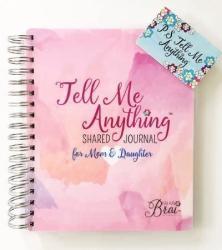 USA Kai Kai Brai - Mom & Daughter Journal - Pink Watercolor
