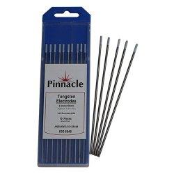 Pinnacle Tungsten White Tip Electrodes 10 Pack