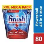 Finish All In One Dishwashing Tablets Regular - 80'S