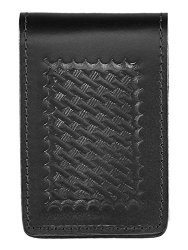 Aker Leather 582 3 X 5 Notebook Cover Black Basketweave