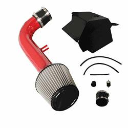 CPT Cold Air Intake Red - For 15-18 Vw Volkswagen Golf GTI 2.0T Turbo Tsi 4CYL -499-R