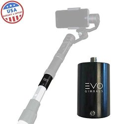 EVO Gimbals Evo PA-100 Painter's Pole To 1 4-20 Tripod Thread Adapter - Works With Most Cameras & Gimbals.