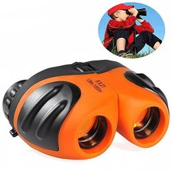 TOP Toy Toys For 4-5 Year Old Boys Shock Proof Compact Binoculars For Kids Gifts Toys For 5-12 Year Old Boys Orange TT05