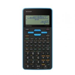 Sharp EL-W535SA-BBL Scientific Calculator 330 Functions -blue