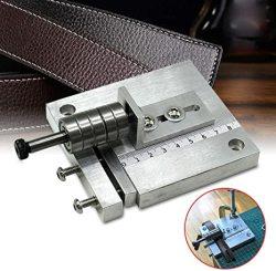 TFCFL Leather Belt Cutting Machine Leather Strap Cutter Machine Aluminium Leather Strip Cutting Tool Belt Cutting Leathercraft
