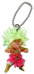 SA Bandai Gashapon Dragon Ball Udm Best 22 Figure Swing Keychain s.s Brolly