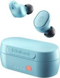 Skullcandy Sesh Evo Wireless In-ear Headphones Bleached Blue - True Wireless