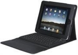 Manhattan iPad2 Bluetooth Keyboard Case in Black