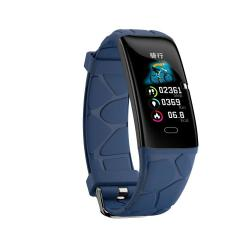 E58 0.96 Inch Ips Color Screen Smartwatch IP67 Waterproof Support Call Reminder heart Rate Monitoring blood Pressure Monitoring sleep Monitoring blood Oxygen Monitoring Blue