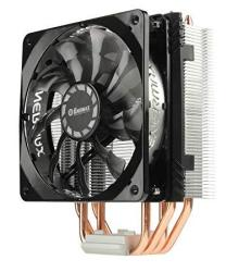 EcoMaster Enermax ETS-T40 Fit Outstanding Cooling Performance Cpu Cooler 200W Intel amd 120MM Fan - Black silver ETS-T40F-TB