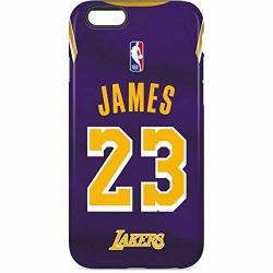new arrive 74d8e 0f8b6 Skinit Nba Los Angeles Lakers Iphone 6S Pro Case - Lebron James Lakers  Purple Jersey Design - High Gloss Scratch Resistant Phone | R1475.00 | ...