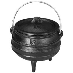 AfriTrail Camping Equipment Afritrail 1 4 Cast Iron Potjie