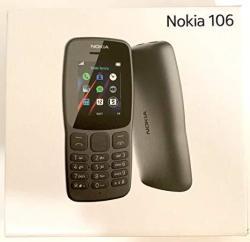 Nokia 106 Single Sim 2018 TA-1190 Dual-band 850 1900 Factory GSM Unlocked Feature Phone International Model