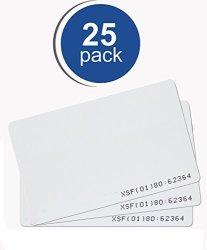 Kantech Ioprox P20DYE Imageable Proximity Card 25PK Rapidprox